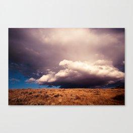 Angry Skys Canvas Print