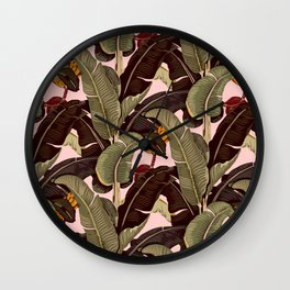 martinique pattern Wall Clock