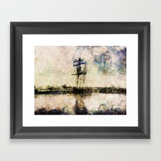 A Gallant Ship Framed Art Print