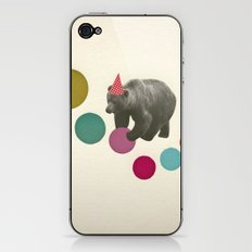 Birthday Bear iPhone & iPod Skin