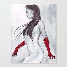 Blood Widow Canvas Print