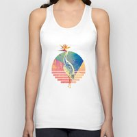 paradise Tank Tops featuring Paradise by James McKenzie