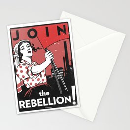 Join The Rebellion! Stationery Cards