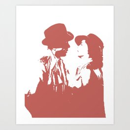 Casablanca - Terra Cota Art Print