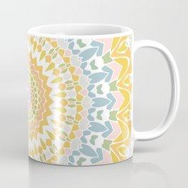 Pastel Pebbles Mandala Coffee Mug