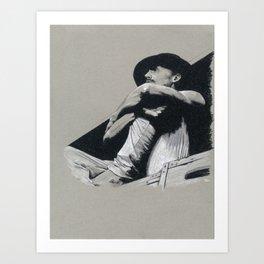 Tom Hiddleston: 1883 Art Print