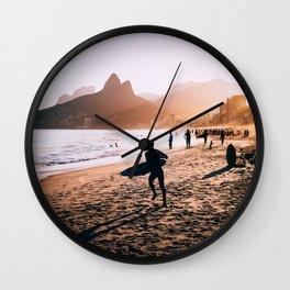 Rio de Janeiro (AquaChara) Wall Clock
