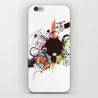custom iPhone & iPod Skins featuring Custom Jip by Custom Horror