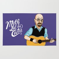 lab Area & Throw Rugs featuring Meth Lab for Cutie by Chris Piascik