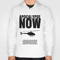 apocalypse now Hoodies featuring Apocalypse Now Move Poster by FunnyFaceArt