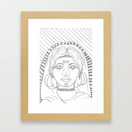 Fulani Framed Art Print