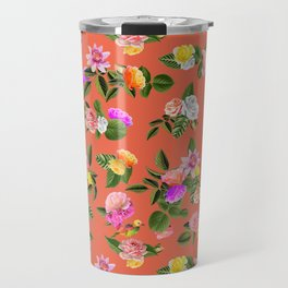 Orange Lady Travel Mug