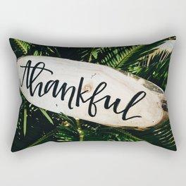 Thankful Botanical (Color) Rectangular Pillow