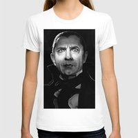 actor T-shirts featuring Bela Lugosi is Dead by Thubakabra