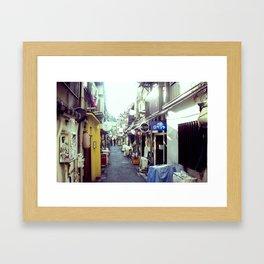lobelia Framed Art Print