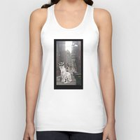 pittsburgh Tank Tops featuring Pittsburgh Lurkers by Christine Eglantine