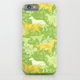 SETTERS ON THE MEADOW iPhone Case