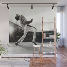 Freddie Mercur-y Poster, Freddie#Mercury Music Poster Wall Art Home Decor Wall Mural