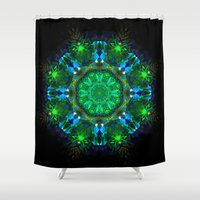 hawaiian Shower Curtains featuring Hawaiian Delight by KAndYSTaR