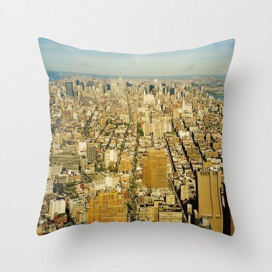 NEW YORK 4 Throw Pillow