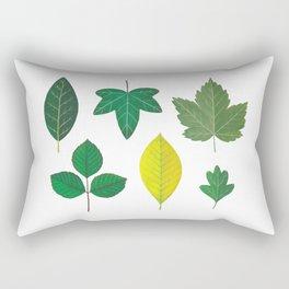 Summer Leaves Rectangular Pillow