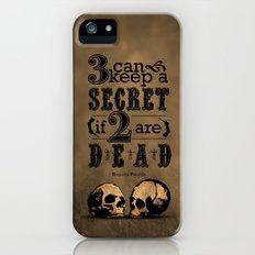 Benjamin Franklin Illustrated Quote iPhone (5, 5s) Slim Case