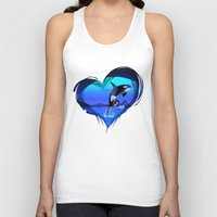 orca Tank Tops featuring Orca by Simone Gatterwe