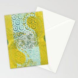 Monoprint 8 Stationery Cards