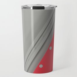 Colored plate with rivets Travel Mug