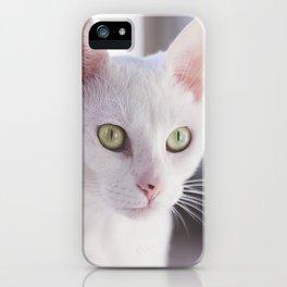 Le Chat Blanc iPhone Case