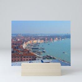 Venice from Above Mini Art Print