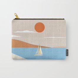 Malta travel poster Carry-All Pouch