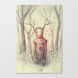 Forest Freak Canvas Print