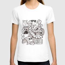 Kawaii Doodle - Goat Love T-shirt