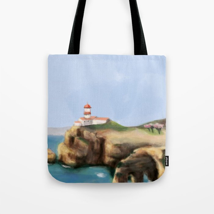 Algarve landscape Tote Bag