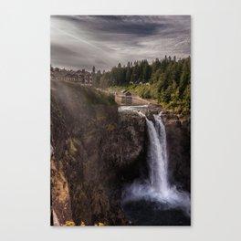 Twin Peaks Falls Canvas Print
