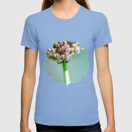 Spider in a Garlic Flower T-shirt