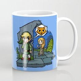 Legend of Zelda Wind Waker Meow T-Shirt Coffee Mug