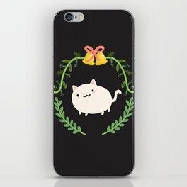 Wreath + Cat iPhone Skin