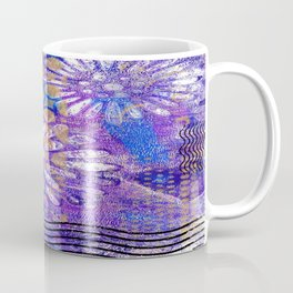 Pattern in Purples and Blues Coffee Mug