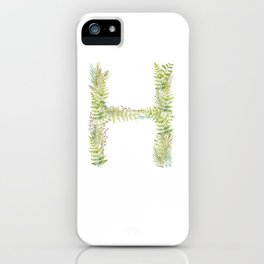 Initial H iPhone Case