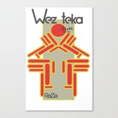 Raza - Wezteka Union - 2 of 3 Canvas Print