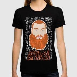 Action Bronson Portrait T-shirt