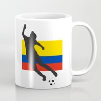 colombia Mugs featuring Colombia - WWC by Alrkeaton