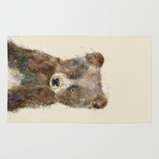 little brown bear Rug