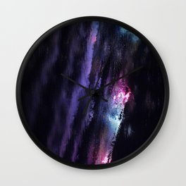 Cascade of Colour Wall Clock