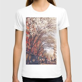 NYC Cherry Blossoms on the Lower East Side T-shirt