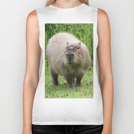 So cute capybara Biker Tank
