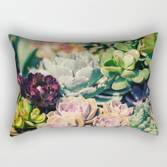 Cacti And Succulents I Rectangular Pillow