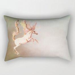 Fire and water Rectangular Pillow